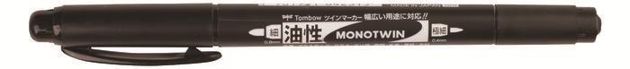 Rotulador tombow mono twin permanente con doble punta fina y