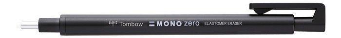 Portagoma tombow mono zero punta redonda 2,3 mm negro