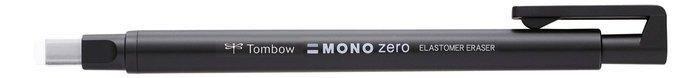 Portagoma tombow mono zero punta rectangular 2,5 x 5 mm negr