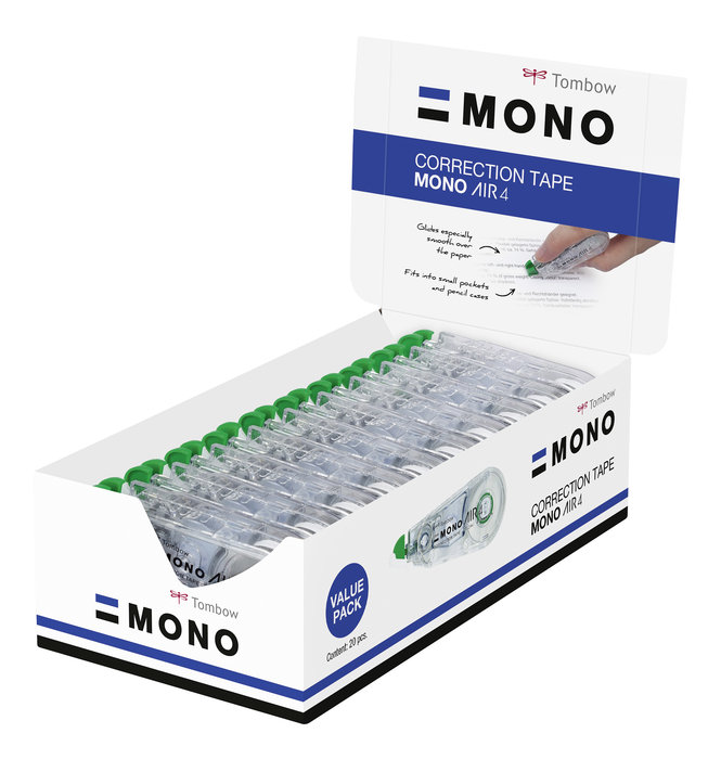 Cinta correctora tombow mono air 4.2 mm x 10 m