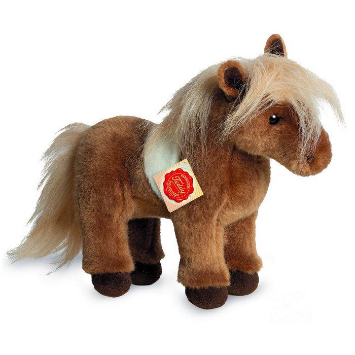 Peluche pony de shetland 25 cm