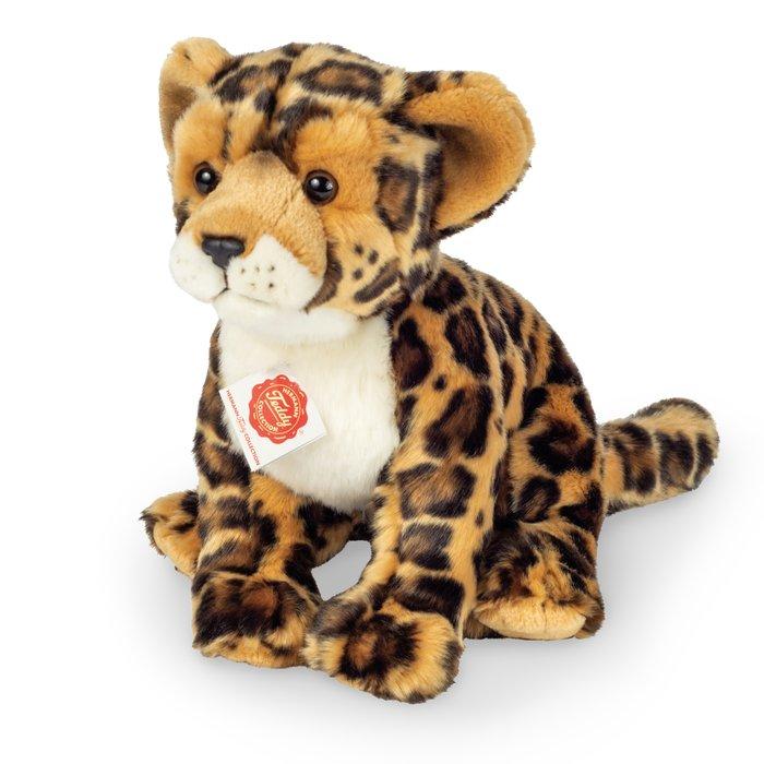 Peluche leopardo sentado 27 cm