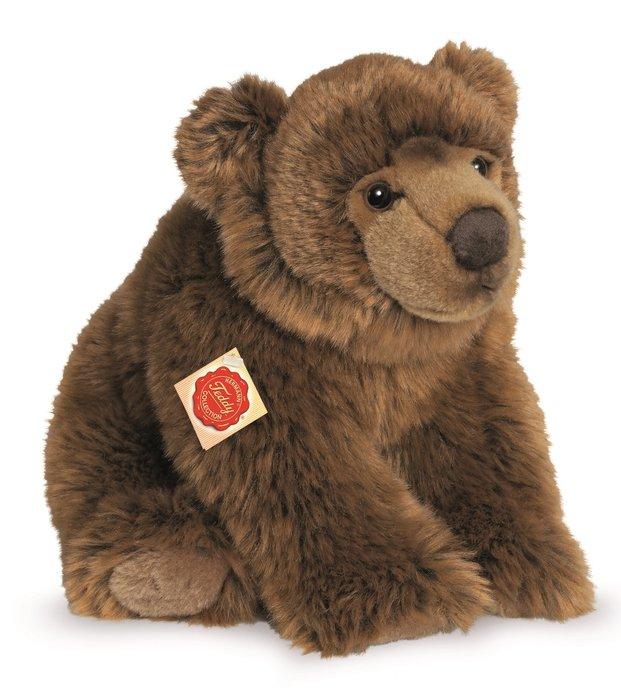 Peluche collection oso marron sentado 30 cm