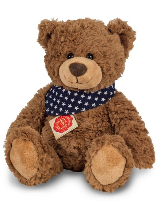 Peluche oso teddy marron 30cm