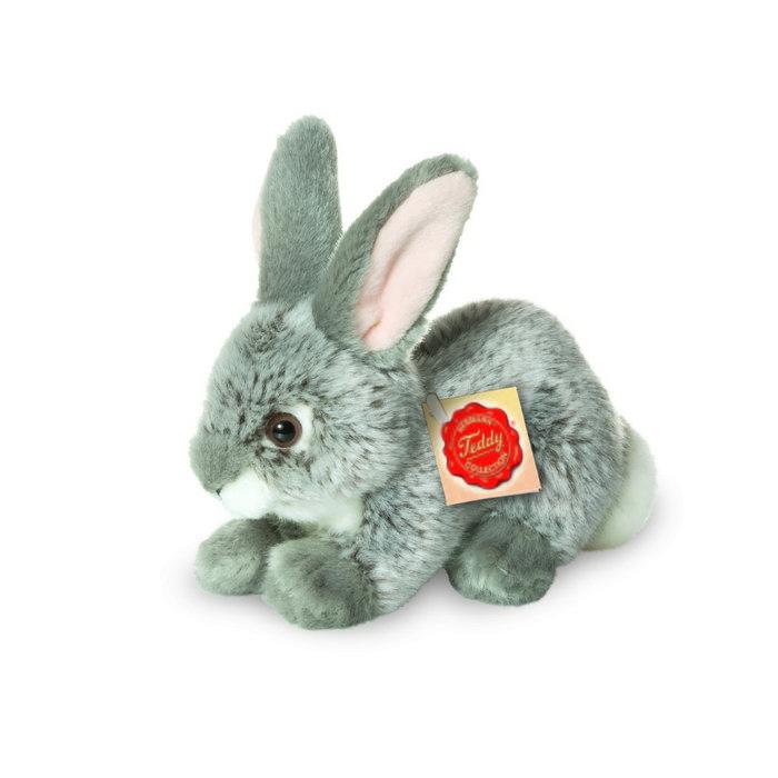 Peluche conejo gris 18 cm