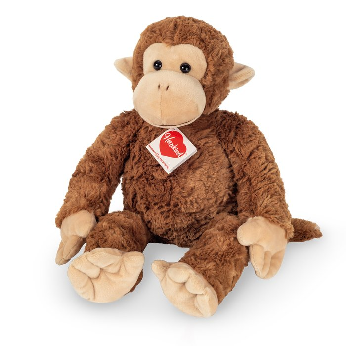 Peluche mono carly 27 cm