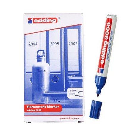 Rotulador edding 3000 azul