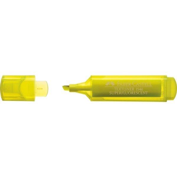 Marcador fluorescente textliner 1546 amarillo