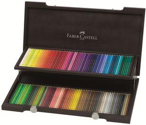 Lapiz faber polychromos 120 colores estuche madera