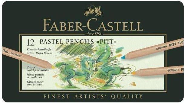 Lapiz faber pastel c/12 colores