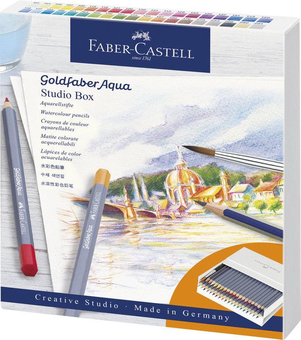 Lapiz acuarelable goldfaber aqua estuche estudio