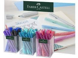 Rotulador faber castell broadpen pastel expositor 60 uds