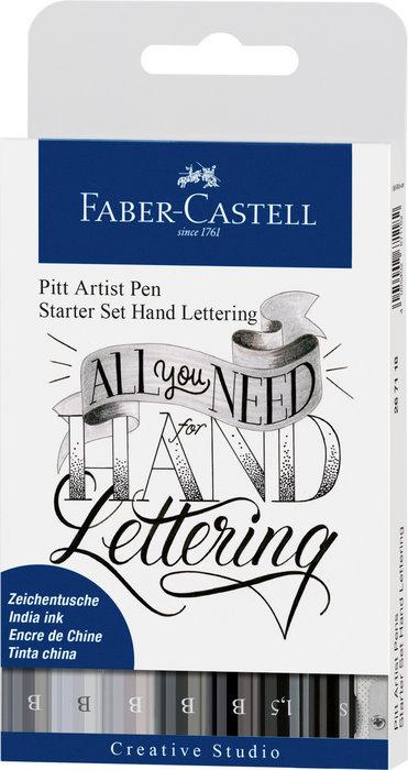 Set de iniciacion lettering 7 rotuladores + accesorios
