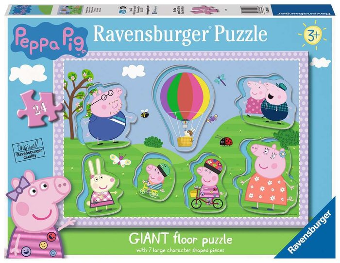 Puzzle peppa pig b 24 giant