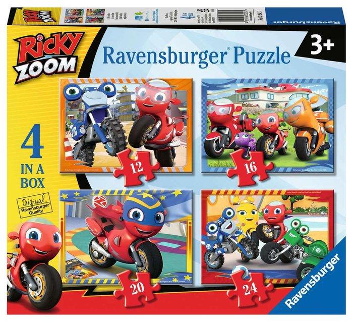 Puzzle 4 en 1 ricky zoom