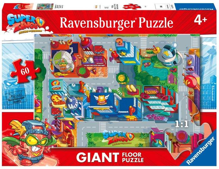 Puzzle 60 piezas giant superzings