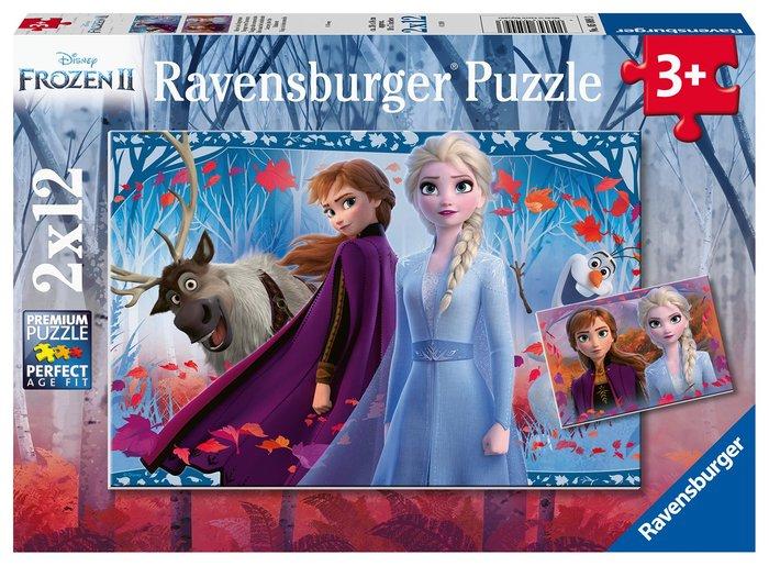 Puzzle frozen ii 12p 26x18cm 2 modelos surtidos