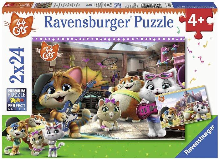 Puzzle 44 gatos 2 unid de 24 piezas