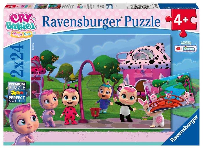 Puzzle 2x24 bebes llorones