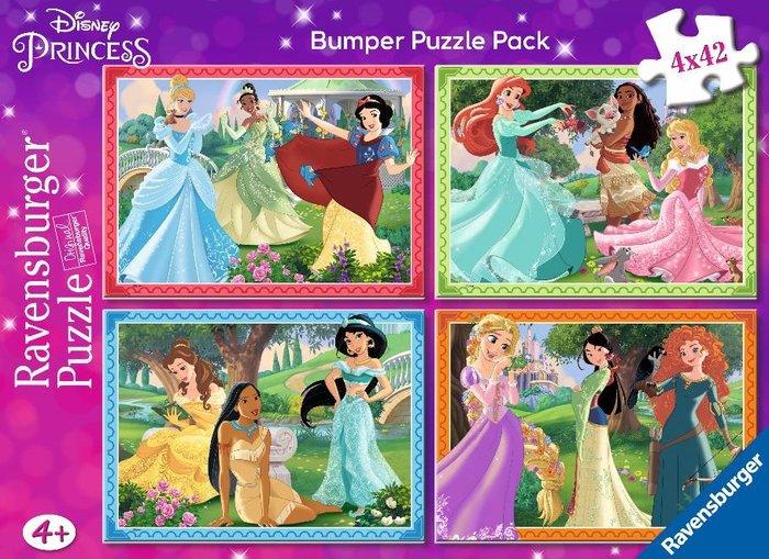 Puzzle princesas disney 2 puzzles 42 pz