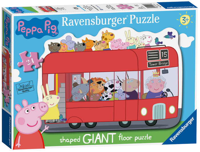 Puzzle peppa pig 24 giant