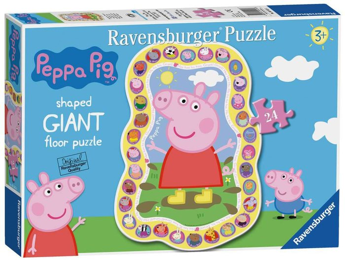 Puzzle peppa pig giant