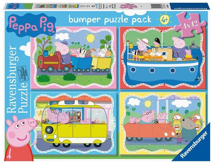 Puzzle peppa pig 2 puzzles 42 pz