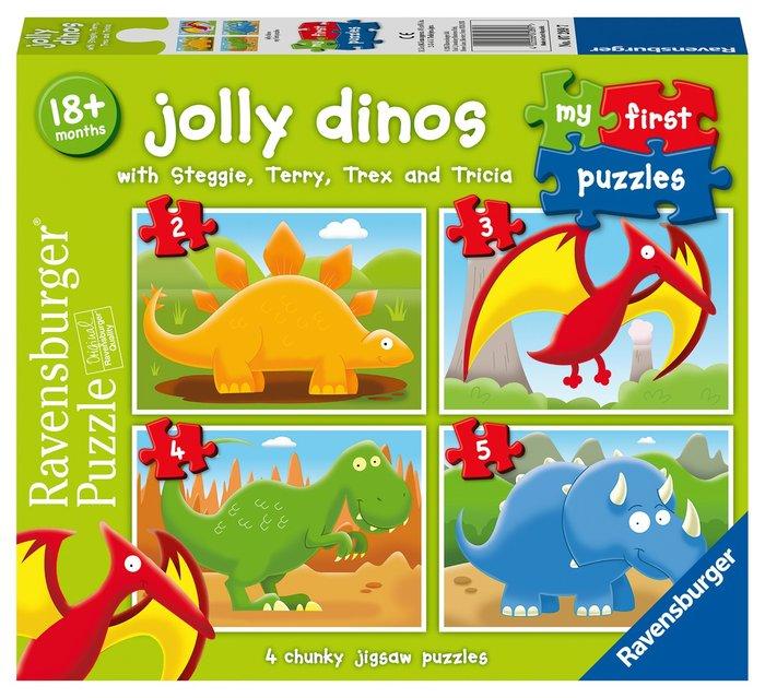 Puzzle dinosaurios