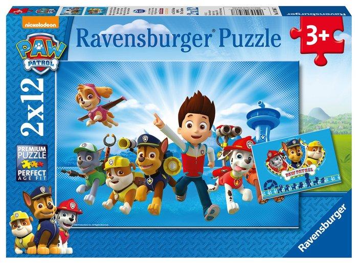Puzzle 2x12 patrulla canina