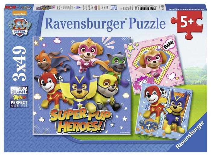 Puzzle 3x49 patrulla canina d