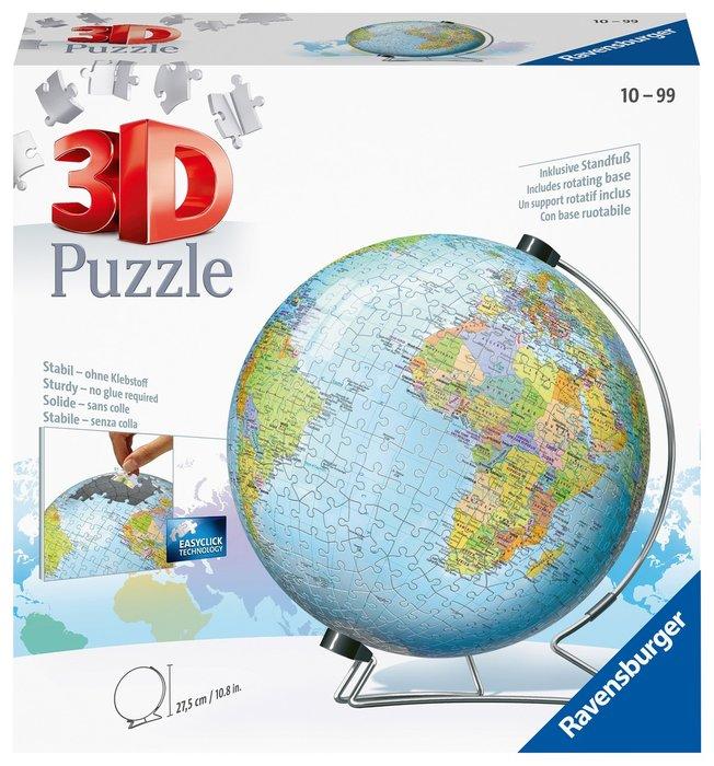 Puzzle 3d 540 piezas globo