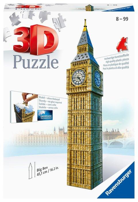 Puzzle 3d big ben building ravensburger 12554