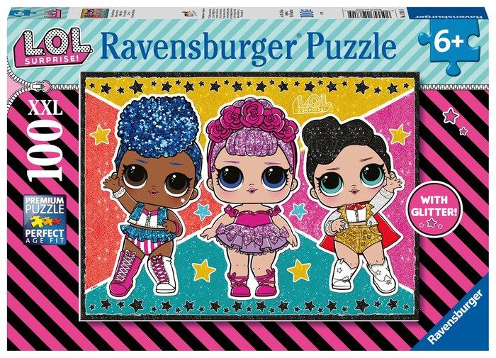 Puzzle lol glitter 100 p 49x36cm xxl