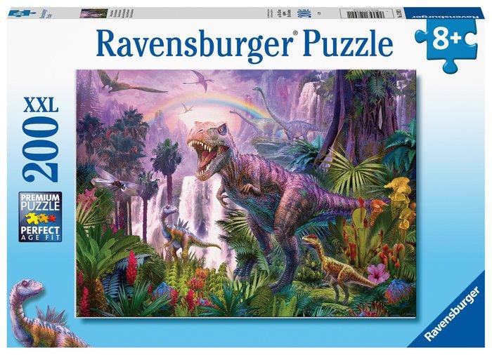 Puzzle ravensburger xxl pais de los dinosaurios 200 piezas