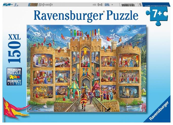 Puzzle xxl bienvenido al castillo de los caballeros 150 pz