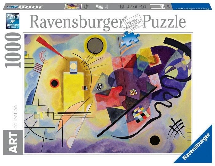 Puzzle 1000 p kandinsky, wassily: amarillo, rojo, azul