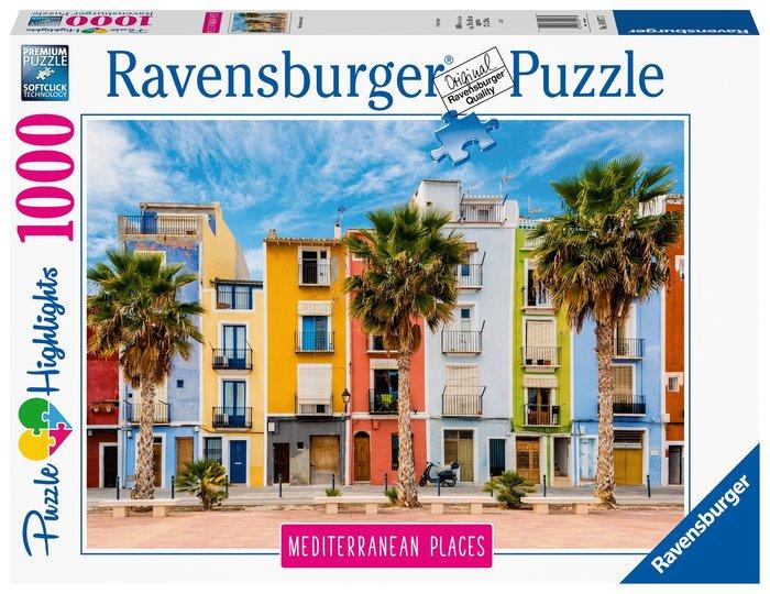Puzzle mediterranean spain 1000 piezas