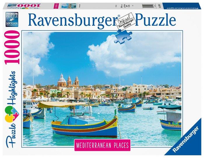 Puzzle mediterranean malta 1000 piezas