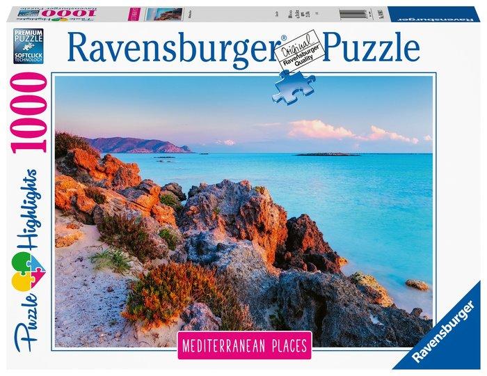 Puzzle mediterranean greece 1000 piezas