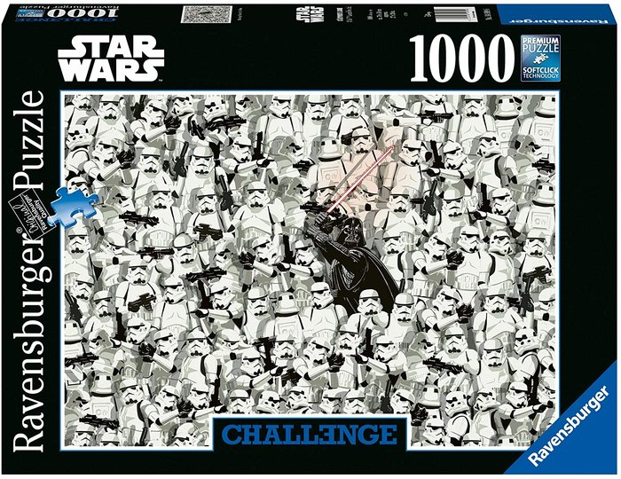 Puzzle 1000 p challenge star wars