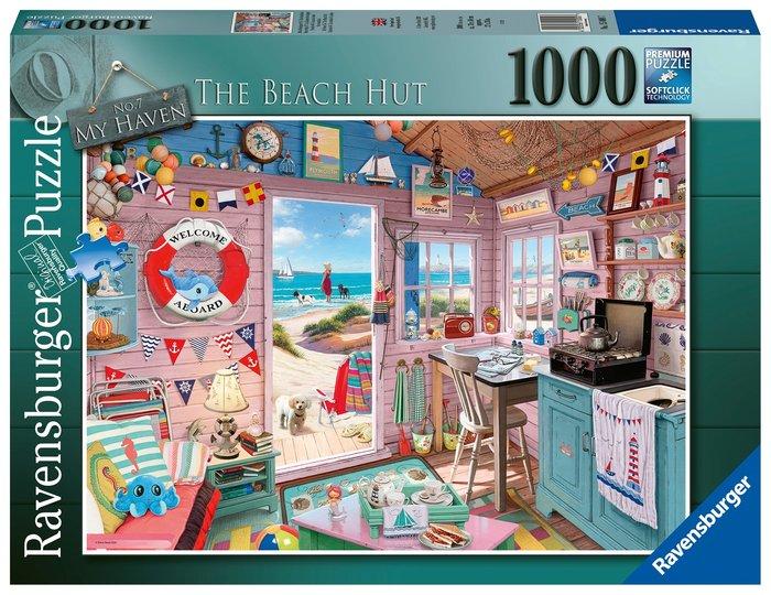 Puzzle 1000 p la cabaÑa de la playa
