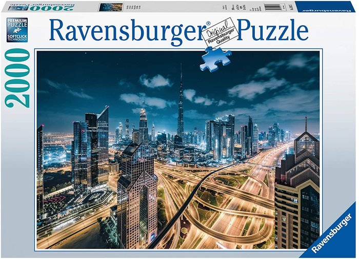 Puzzle 2000 p vista de dubai