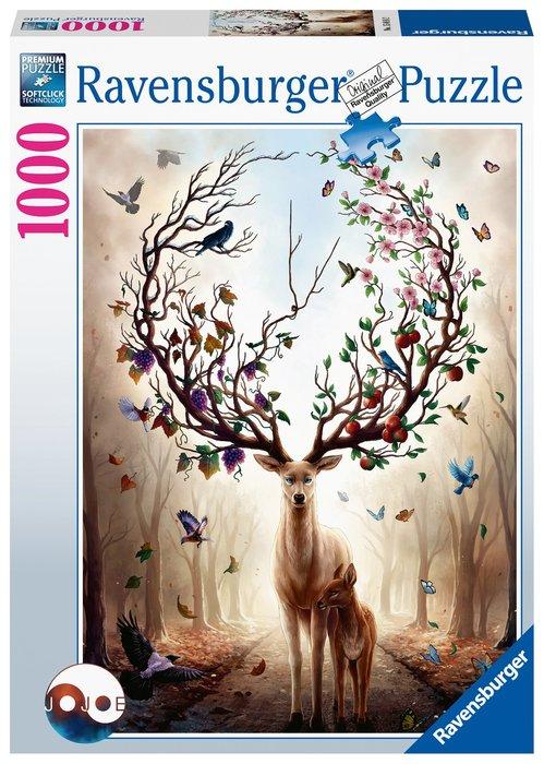 Puzzle 1000 p ciervo magico