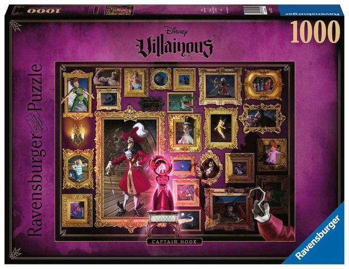 Puzzle 1000 p villanos capt. garfio