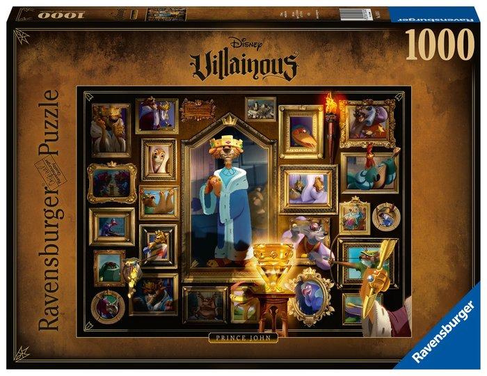 Puzzle 1000 p villanos principe juan