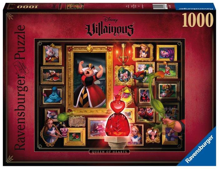 Puzzle villainous reina de corazones