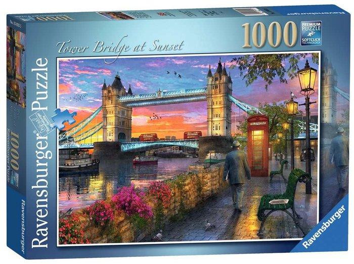 Puzzle 1000 p tower bridge al atardecer