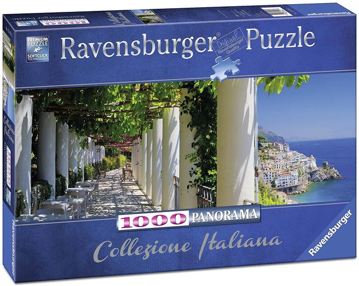 Puzzle panorama amalfi 1000 p