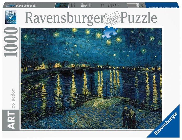 Puzzle van gogh noche estrellada