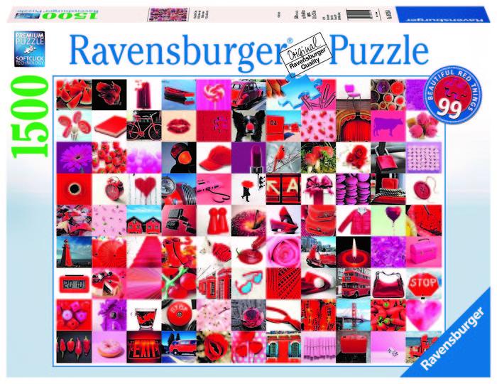 Puzzle 99 bellas cosas rojas 1500 p